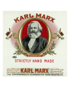 27276~Karl-Marx-Brand-Cigar-Box-Label-Karl-Marx-Posters