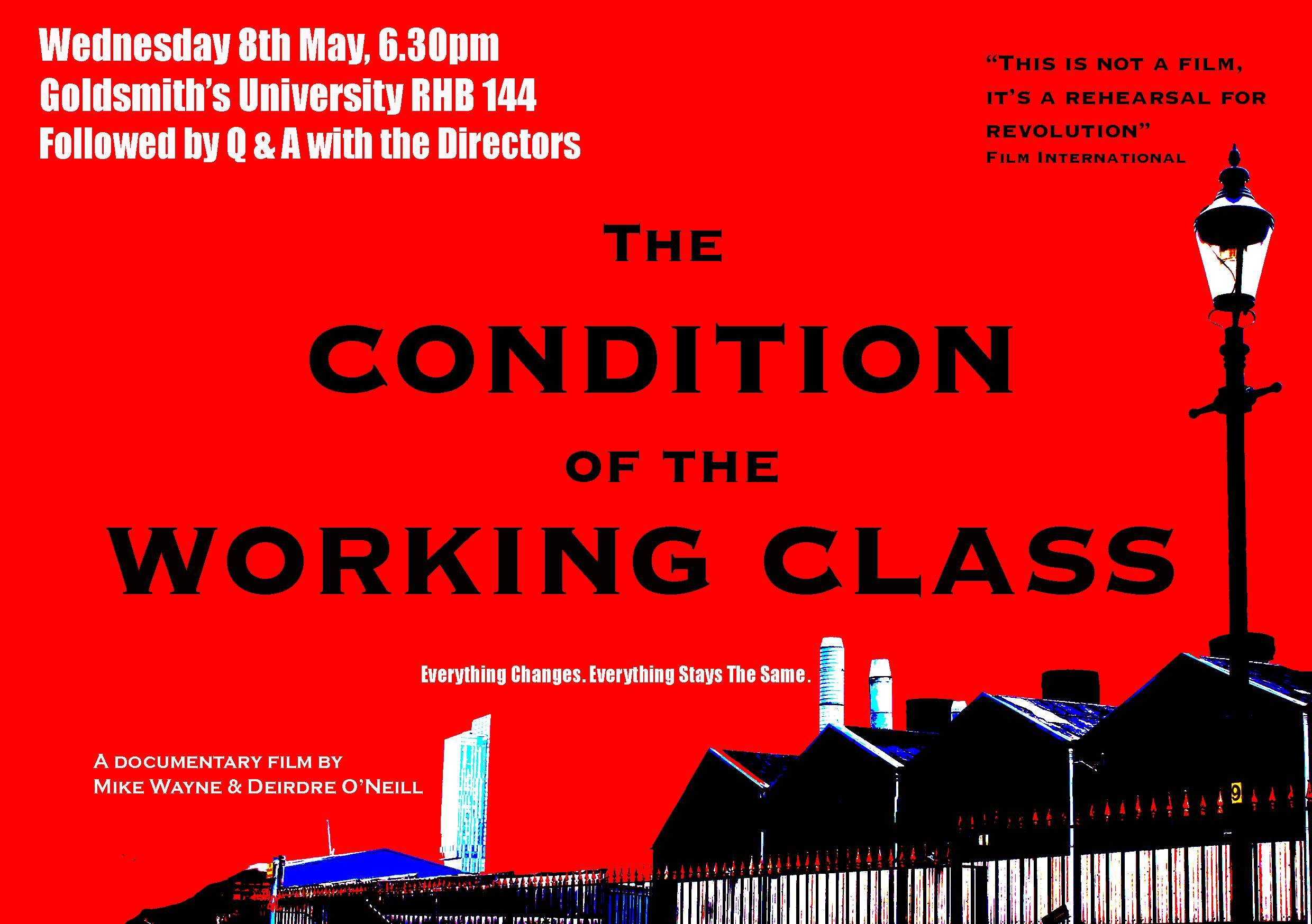 the condition of the working class The condition of the working class in england the condition of the working class in england - title : the condition of the working class in england.