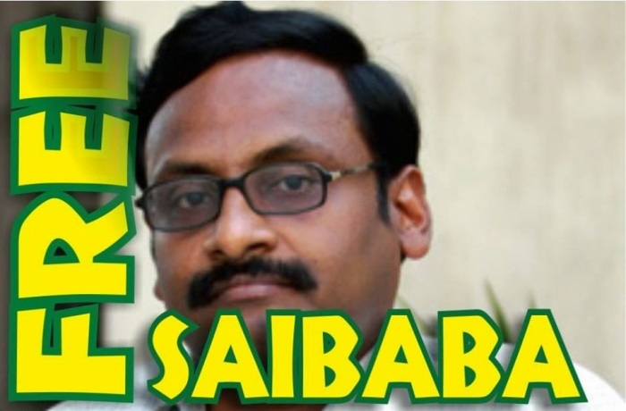 Release Delhi University Professor, Dr GN Saibaba from Prison: Picket, London28.6.2015