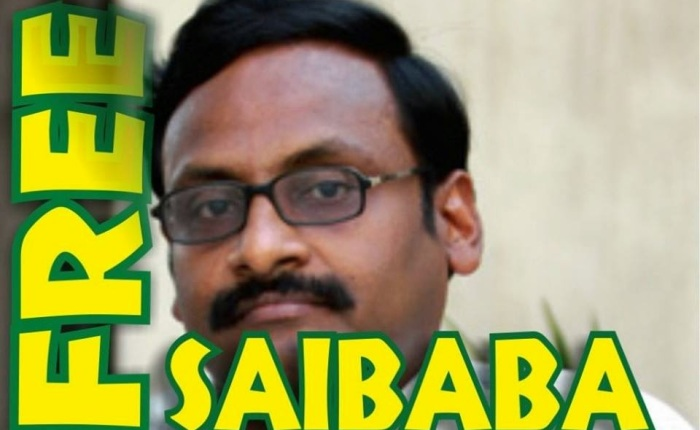 Release Delhi University Professor, Dr GN Saibaba from Prison: Picket, London 28.6.2015