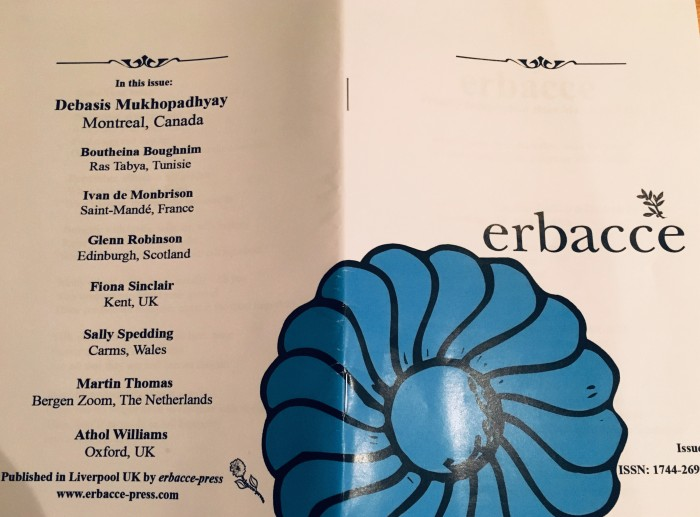 """""""Poetry or Pogrom"""" – Interview at ErbacceJournal"""