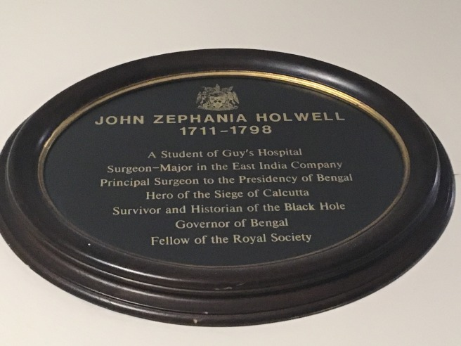 Hollwell plaque