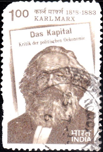 929-Karl-Marx-Das-Kapital-India-Stamp-1983