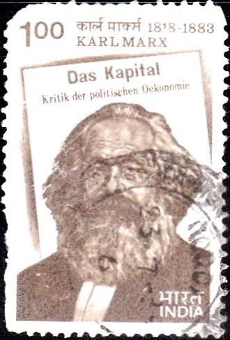 929-Karl-Marx-Das-Kapital-India-Stamp-1983
